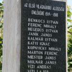 Világháborús emlékmű