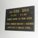 Szalai Attila-emléktábla