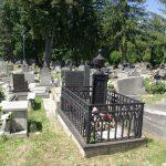 Szörcsey Antal síremléke