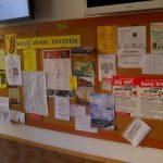 Selye János Egyetem – hirdetőtábla