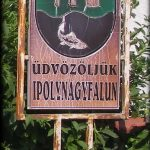 Privítacia tabuľa – Welcome board-old coat of arms